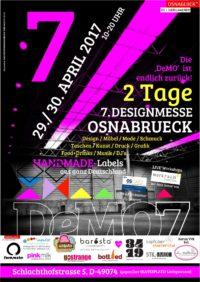 DeMO7 - 7. DESIGNMESSE OSNABRUECK -'Einer der bestbesuchten 'HANDMADE-MÄRKTE' Norddeutschlands!'