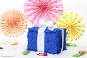DIY Piñata als Geschenkbox