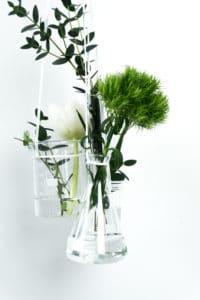 DIY Vasen-Ensemble aus Laborgläsern