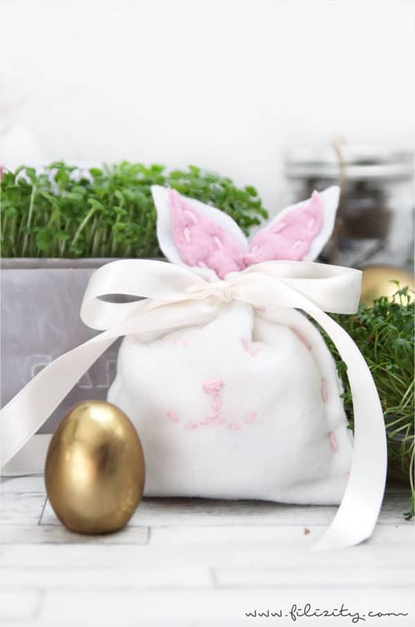 Hasenbeutel – Süße Verpackung für Ostergeschenke