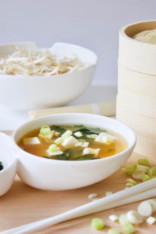 Gesund und gut: Miso Suppe
