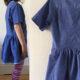 ein einfaches Kinderkleid aus einem Herrenhemd nähen