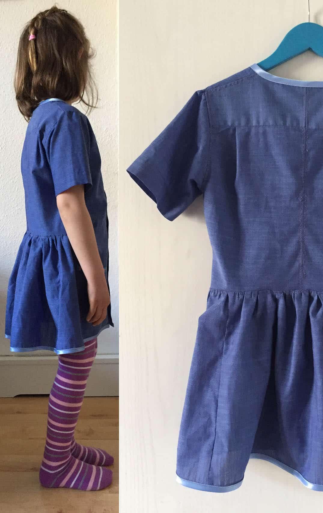 Ein Einfaches Kinderkleid Aus Einem Herrenhemd Nähen Handmade Kultur