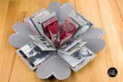 Basteln: Valentins-Explosionsbox