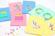 DIY – Karten aus Bügelperlen