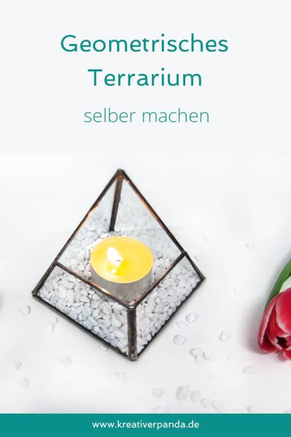 Geometrisches Terrarium selber machen