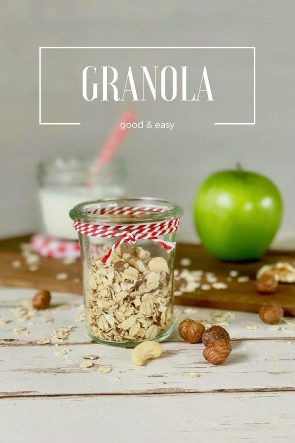 Granola zum Frühstück