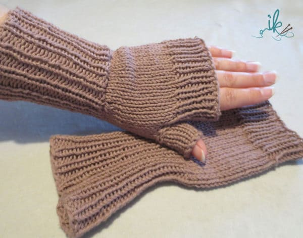 halbe handschuhe stricken