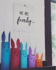 Die Hasenfamilie...