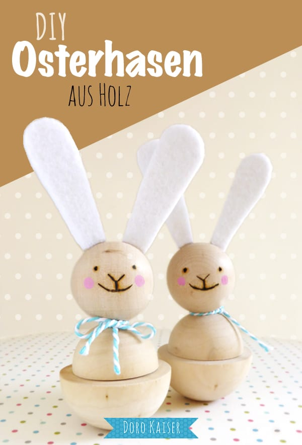 Osterhasen Aus Holz : kleine osterhasen aus holz handmade kultur ~ Watch28wear.com Haus und Dekorationen