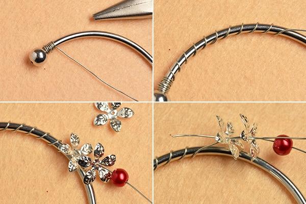 Wie kann man Schmuck mit Perlen Kappen basteln - HANDMADE Kultur
