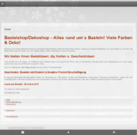 Bastellode - Shop - Bastelshop für Basteln, Farben & Deko - Burkardroth