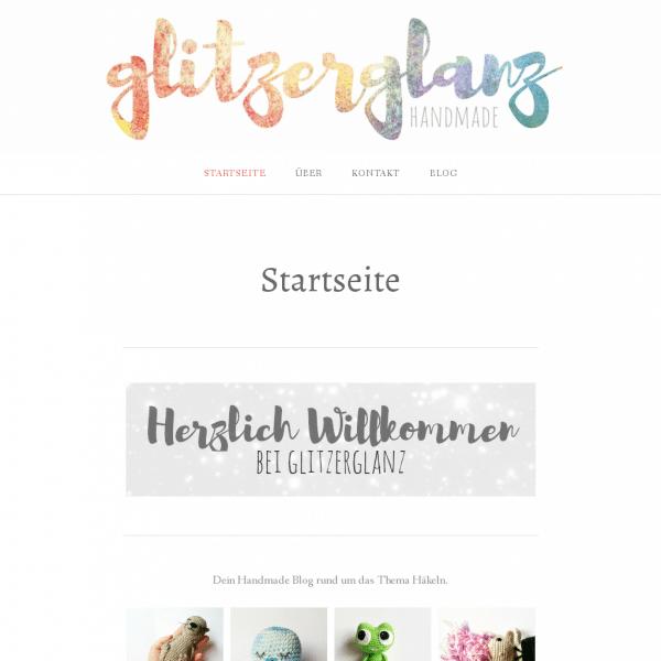 glitzerglanz – Dein Blog, rund ums Häkeln