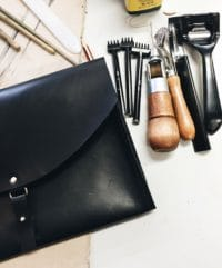 Leder Wochenend - Workshop im Mai 2017, Leather workshop in May 2017 taught in english, Make your own leather bag/ product