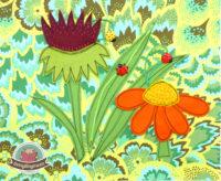 Ein Käferbuch nähen - Spielbuch für Kleinkinder