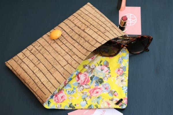 DIY Summer Vibes: Korkclutch