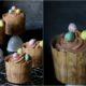 Ostercupcakes mit Nougat-Espuma