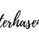 Mini-Osterhasen-Girlande {Plotter-Freebie}