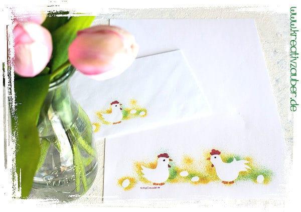 Briefpapier mit passendem Kuvert zu Ostern