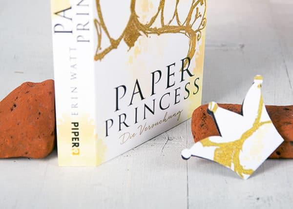 Ein DIY Lesezeichen zu PAPER PRINCESS für alle Leseratten