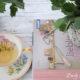 geflochtener Blumentopf mit Papiergarn
