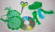 Upcycling von alten CDs - Traumfänger gegen Albträume