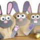 DIY Osterhasen Tüten zum Befüllen