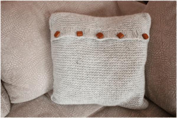 Kuschelkissen aus Filzwolle
