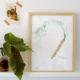 Karotten-Kunst im Vintagelook