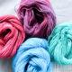 Wolle selbst färben mit Ostereifarbe