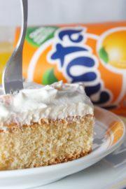 Fanta-Schmand-Kuchen vom Blech