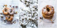 Für die Kaffeetafel zu Ostern: Hefekringel mit Trockenfrüchten, Nüssen, Mohn und Pistazien