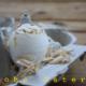Zitronenmuffins in Eierschale