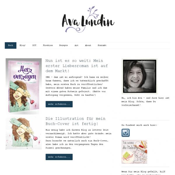 Blog - Ava Lundin