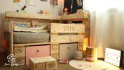 Kinderbett aus Europaletten selber bauen