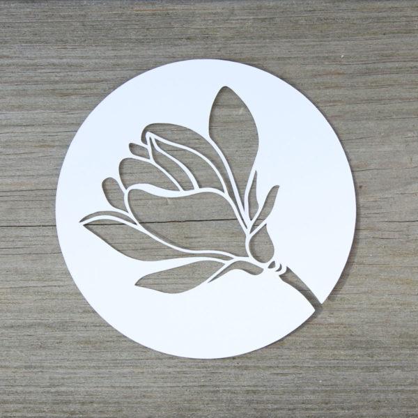Magnolienblüten [Plotter-Freebie]