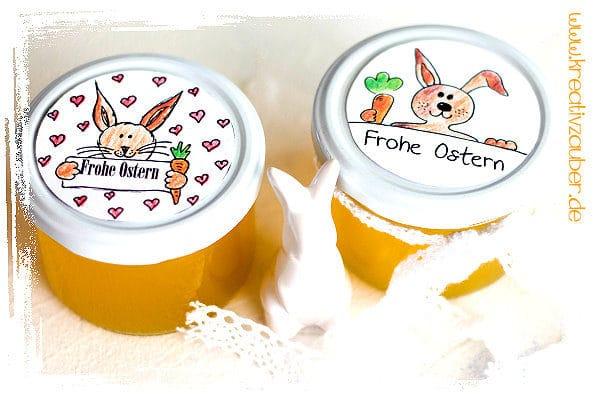 Marmelade Ostern kreativ verpacken