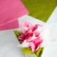DIY-Anleitung für Kirschblüten-Servietten
