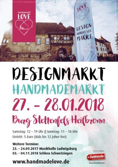 Handmade Love Design & Handmademarkt in Heilbronn