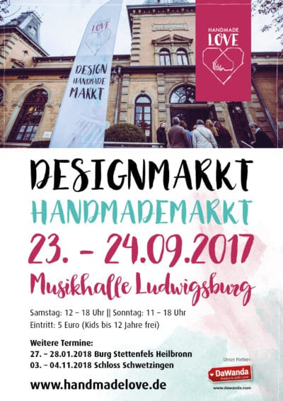 Handmade Love Design & Handmademarkt in Ludwigsburg