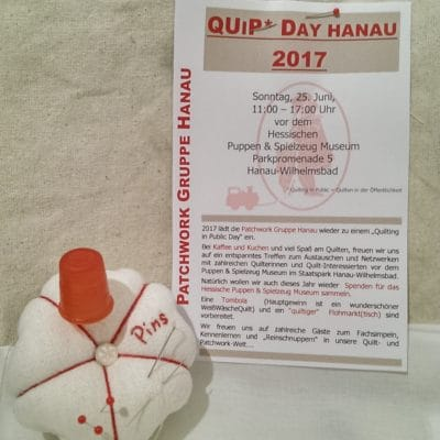 QuiP* Day Hanau 2017 - Patchwork Gruppe Hanau