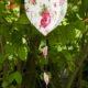 DIY zum Muttertag : Herzen zum Anhängen aus Stoffresten