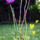 DIY mit Kids - Gartendeko bunt bemalen mit Outdoorfarbe