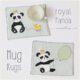 Applikationsvorlage - The Royal Panda