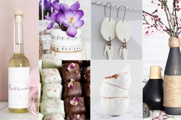 30 Muttertags-Geschenkideen zum Selbermachen