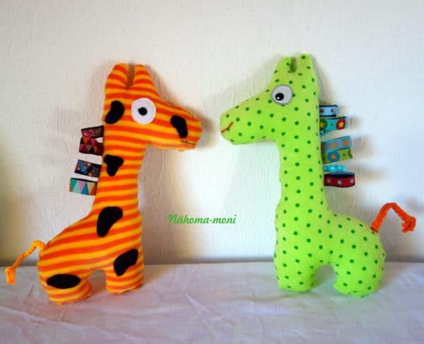 Giraffe, ein Stofftier für Kinder - HANDMADE Kultur