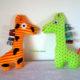 Giraffe, ein Stofftier für Kinder