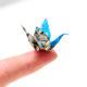 Origami Mini Bücher und Kraniche
