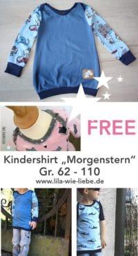 """Must-have """"Morgenstern"""": Kindershirt ganz einfach selbst nähen"""