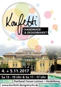 konfetti Handmade- & Designmarkt